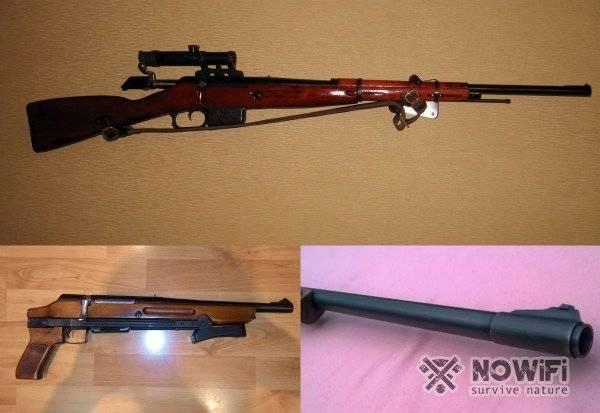 Охотничий карабин мц 19 и его модификации