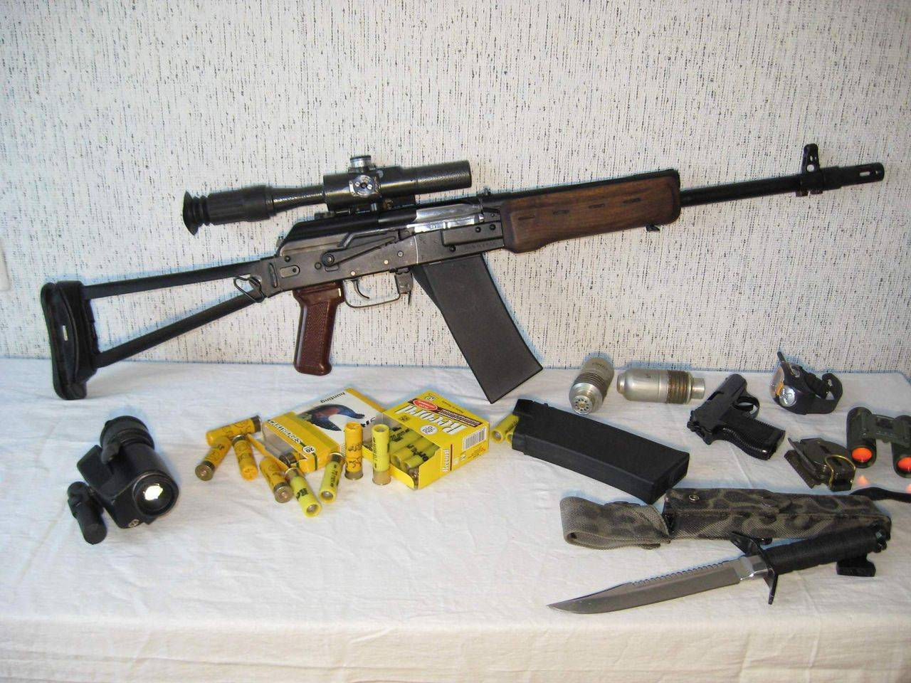 Самозарядные карабины Сайга-20, 20К и 20С