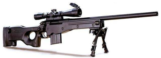 Accuracy international arctic warfare series - internet movie firearms database - guns in movies, tv and video games