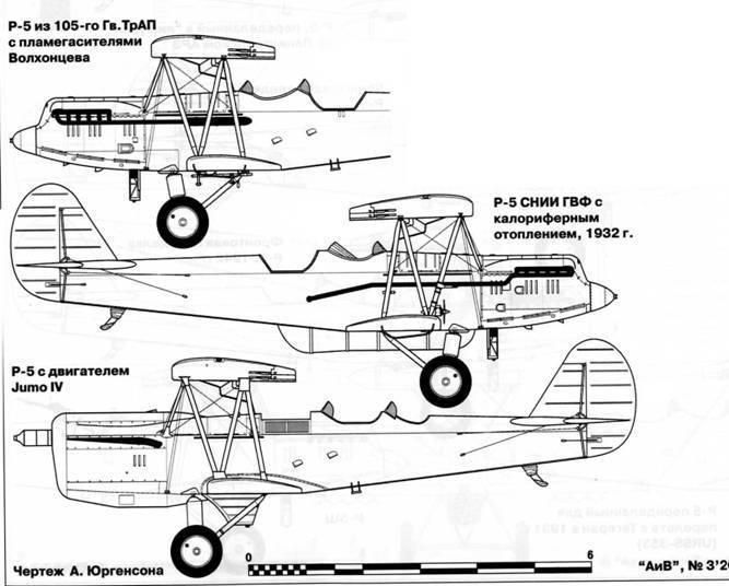 Cоветский многоцелевой самолет р-5