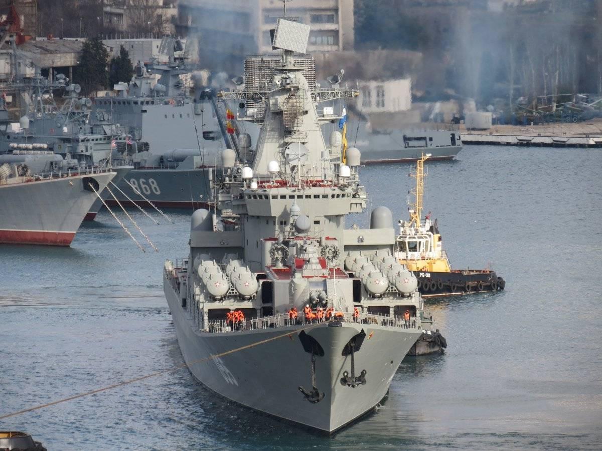 Модернизация ракетного крейсера проекта 1164