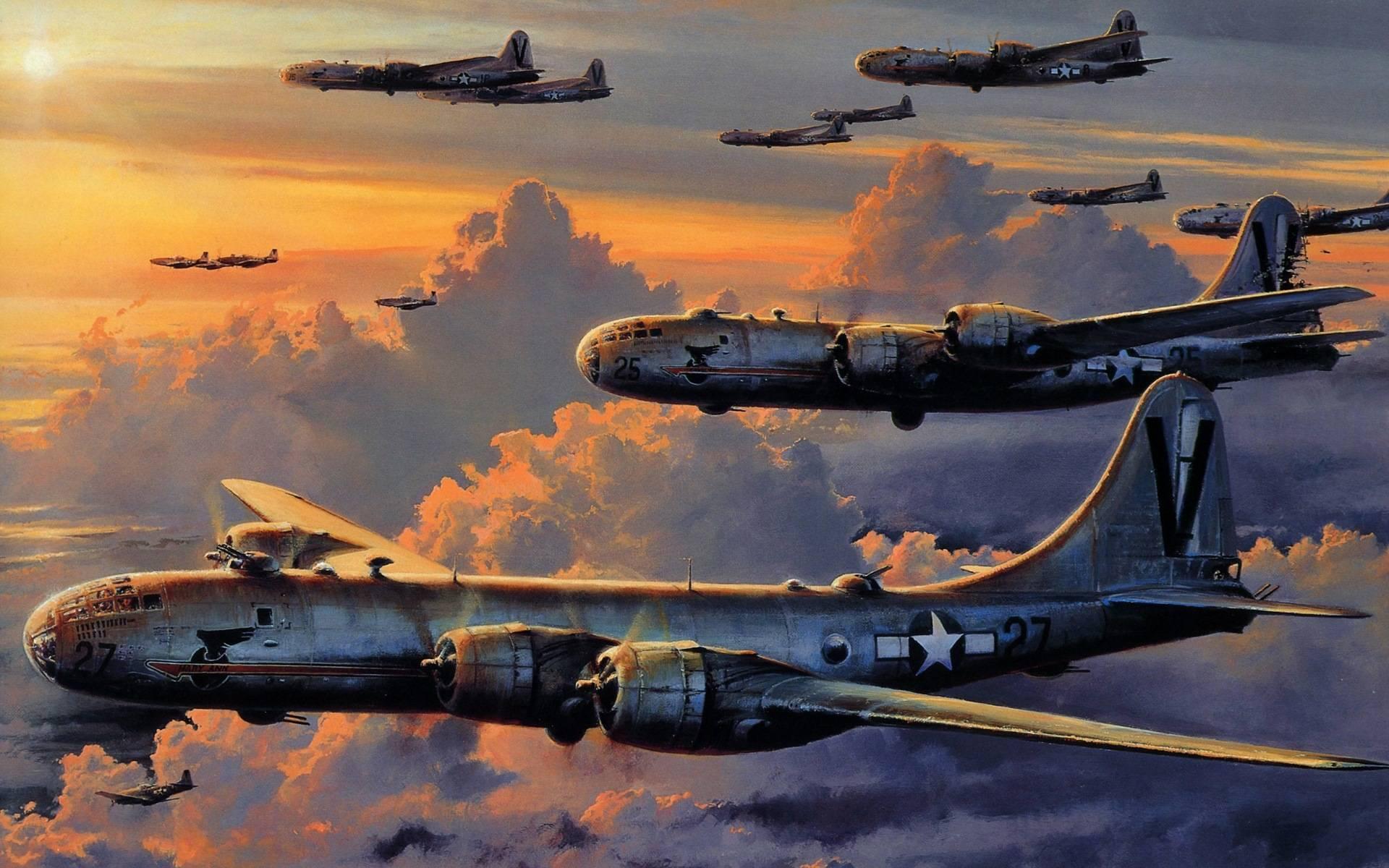 Лучший тяжелый бомбардировщик второй мировой боинг b-29 «superfortress»   красные соколы нашей родины