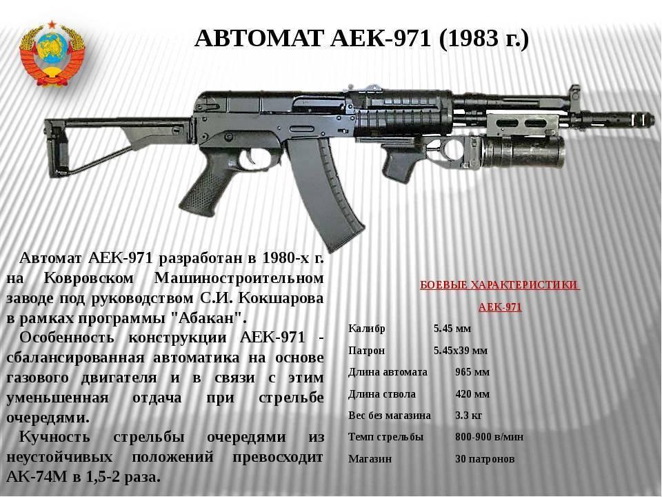 Автомат аек-971