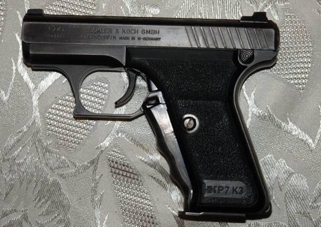 Пистолет hk 4