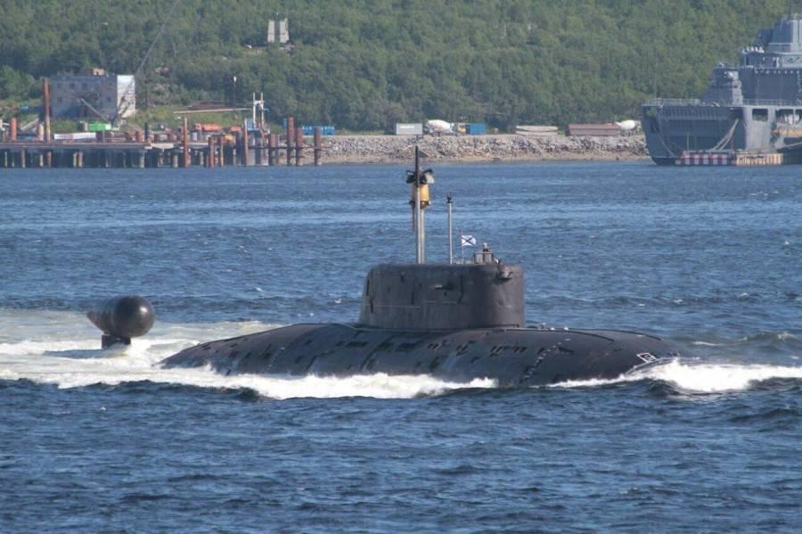 Подводные лодки проекта 945 «барракуда» википедия