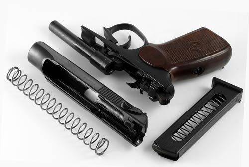 Травматический пистолет макарова пм-т — подробный обзор травмата