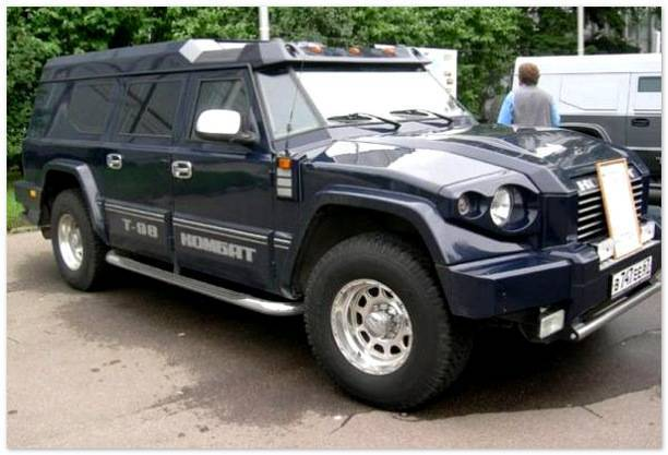 Российский бронированный внедорожник комбат т-98   (20фото)