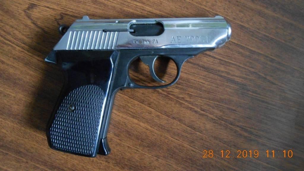 """Пистолет производства """"шмайсера"""" – """"ае 10g"""" под резиновую пулю,и газовый пистолет пгш 10"""