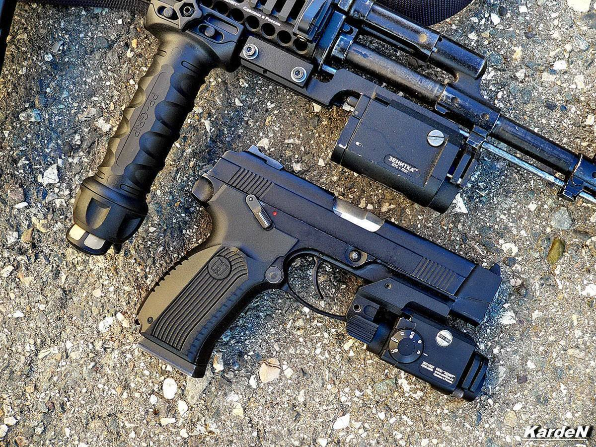 Пневматический пистолет ярыгина «грач» - версия gletcher grach nbb
