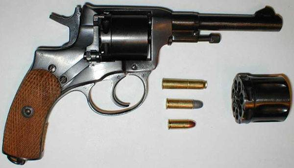 "Пистолет ""наган"": фото, технические характеристики, устройство"