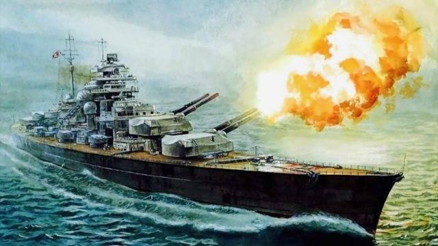 Легендарные корабли: линкор «бисмарк» (14 фото)
