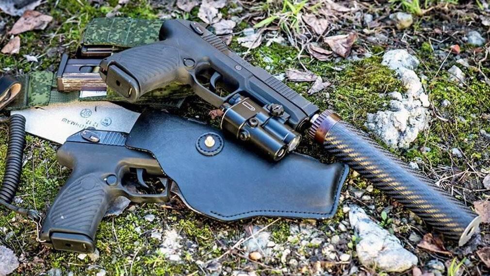 """Новый пистолет """"удав"""" - сравнение с макаровым и другими популярными моделями пистолетов."""