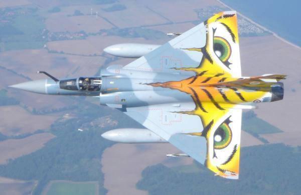 Истребитель мираж 2000 фото. видео. скорость. вооружение. ттх