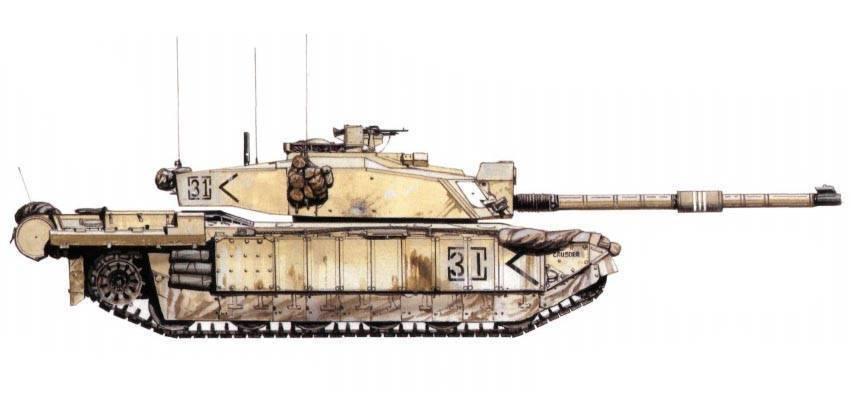 Challenger 2 — викивоины — энциклопедия о военной истории