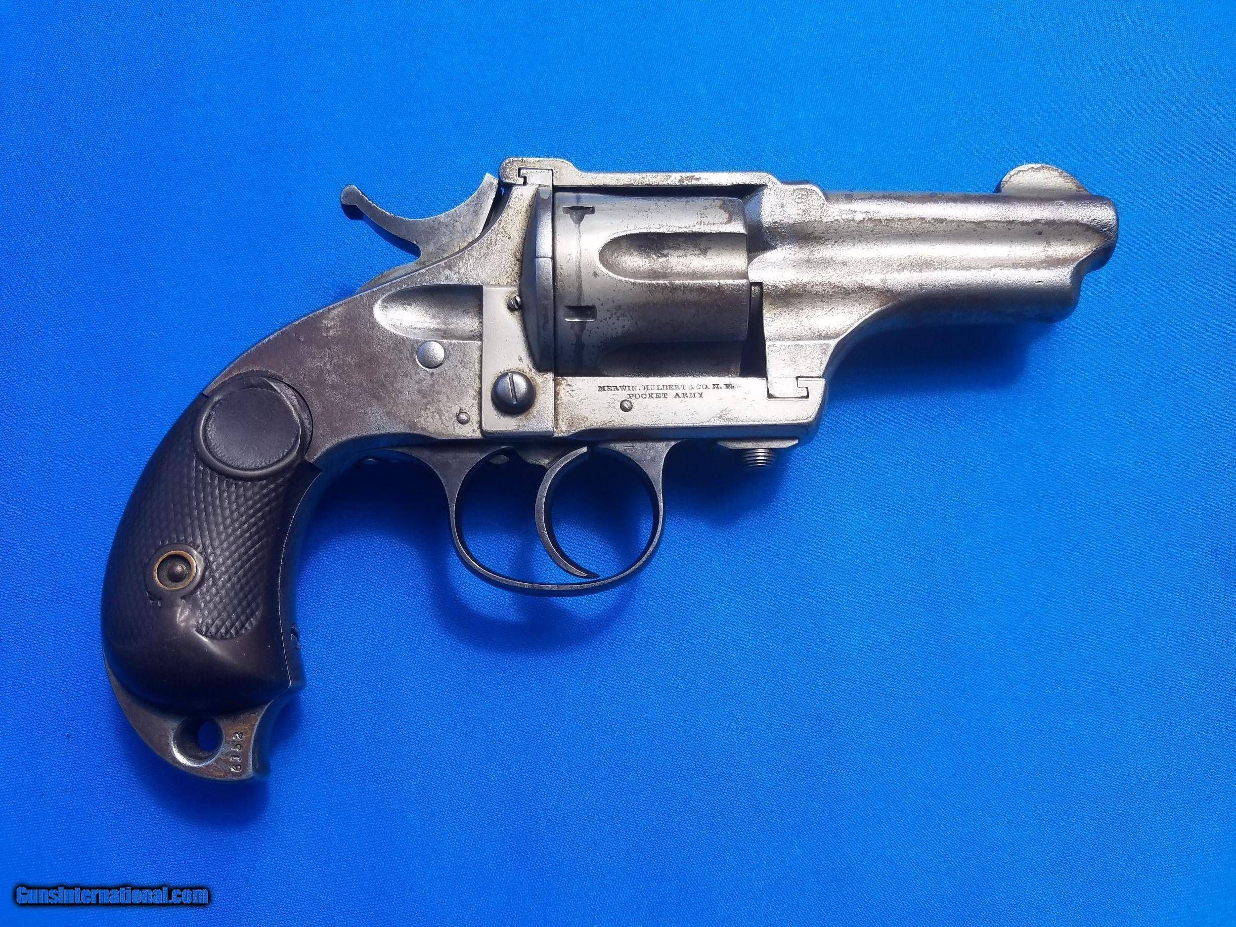 Ugly ducklings, no more merwin, hulbert & co. revolvers finally get respect as sought-after examples of old west hardware.