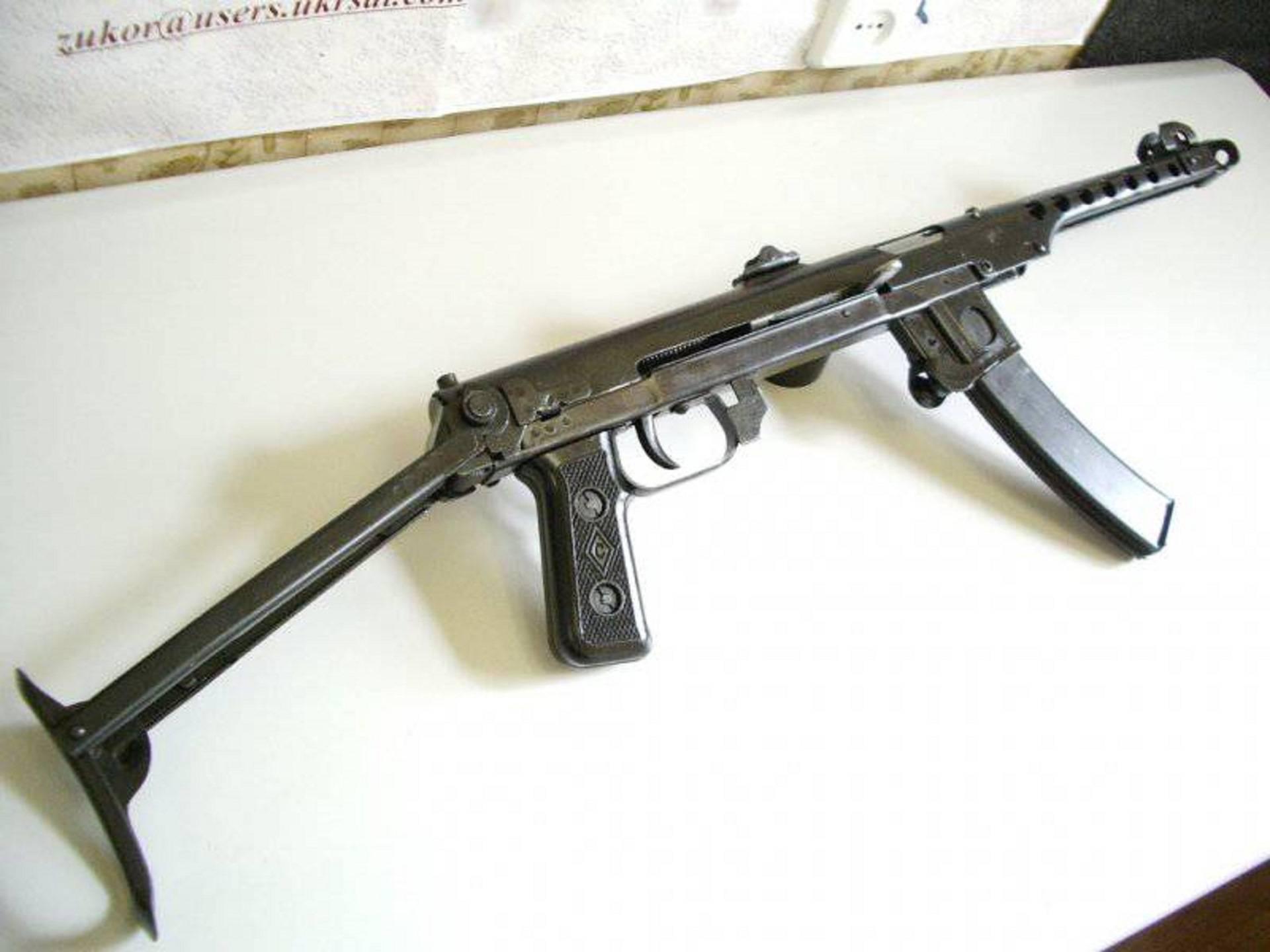 Пистолет-пулемёт судаева - вики