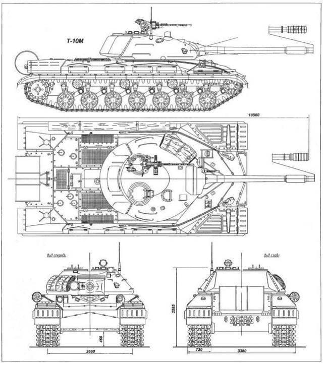Т-10 последний тяжелый танк СССР