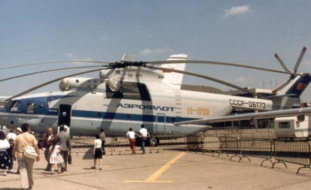 Ми-26 - самый большой в мире вертолёт