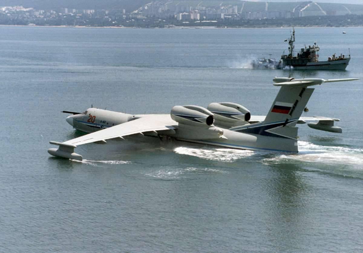 Самолет-амфибия бе-12 еще послужит
