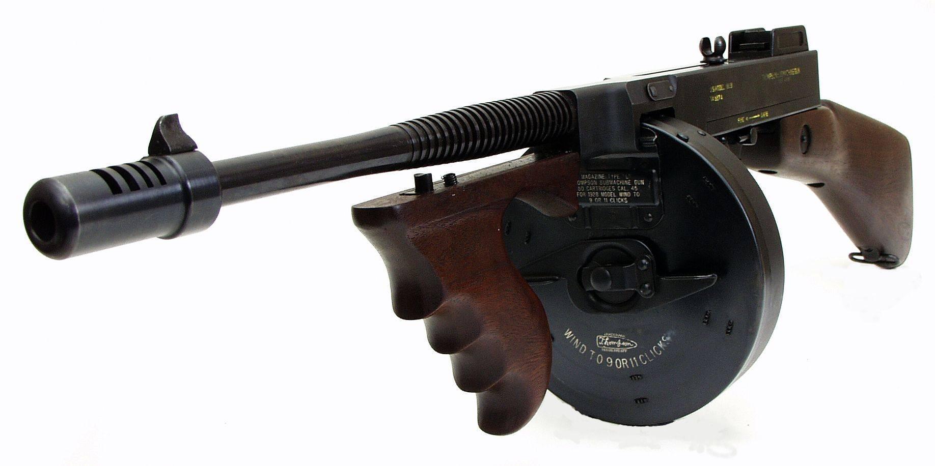 Пистолет-пулемёт томпсона — традиция