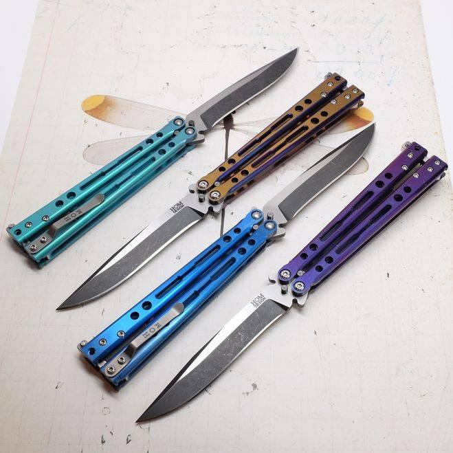 Нож-бабочка – оружие или дешевые понты?
