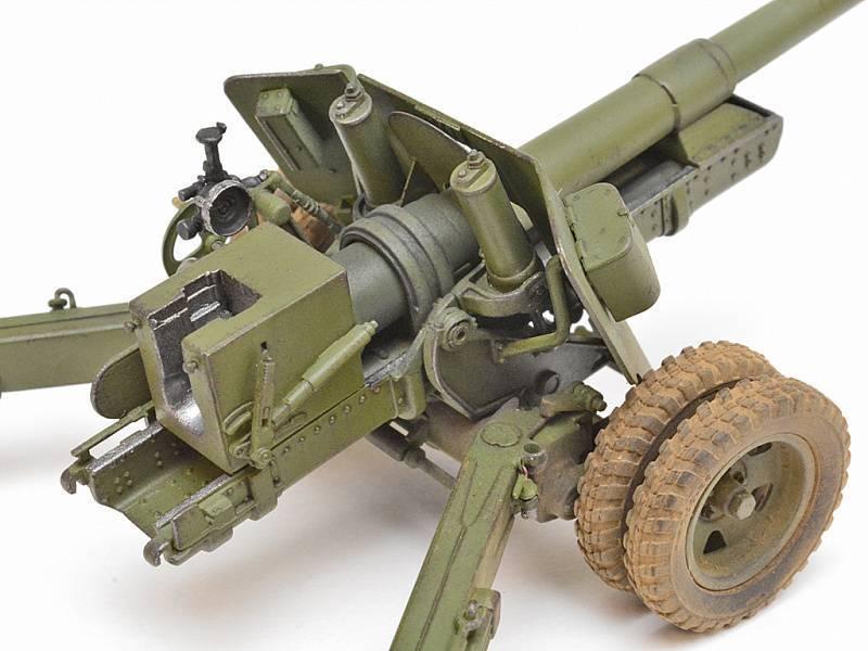 Расчет советской 100-мм пушки бс-3 ведет огонь по противнику в берлине. | военный альбом
