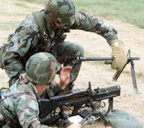 Американский пулемет м60 патрон калибр 7,62-мм