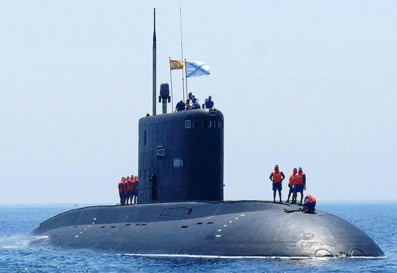 Подводные лодки проекта 636