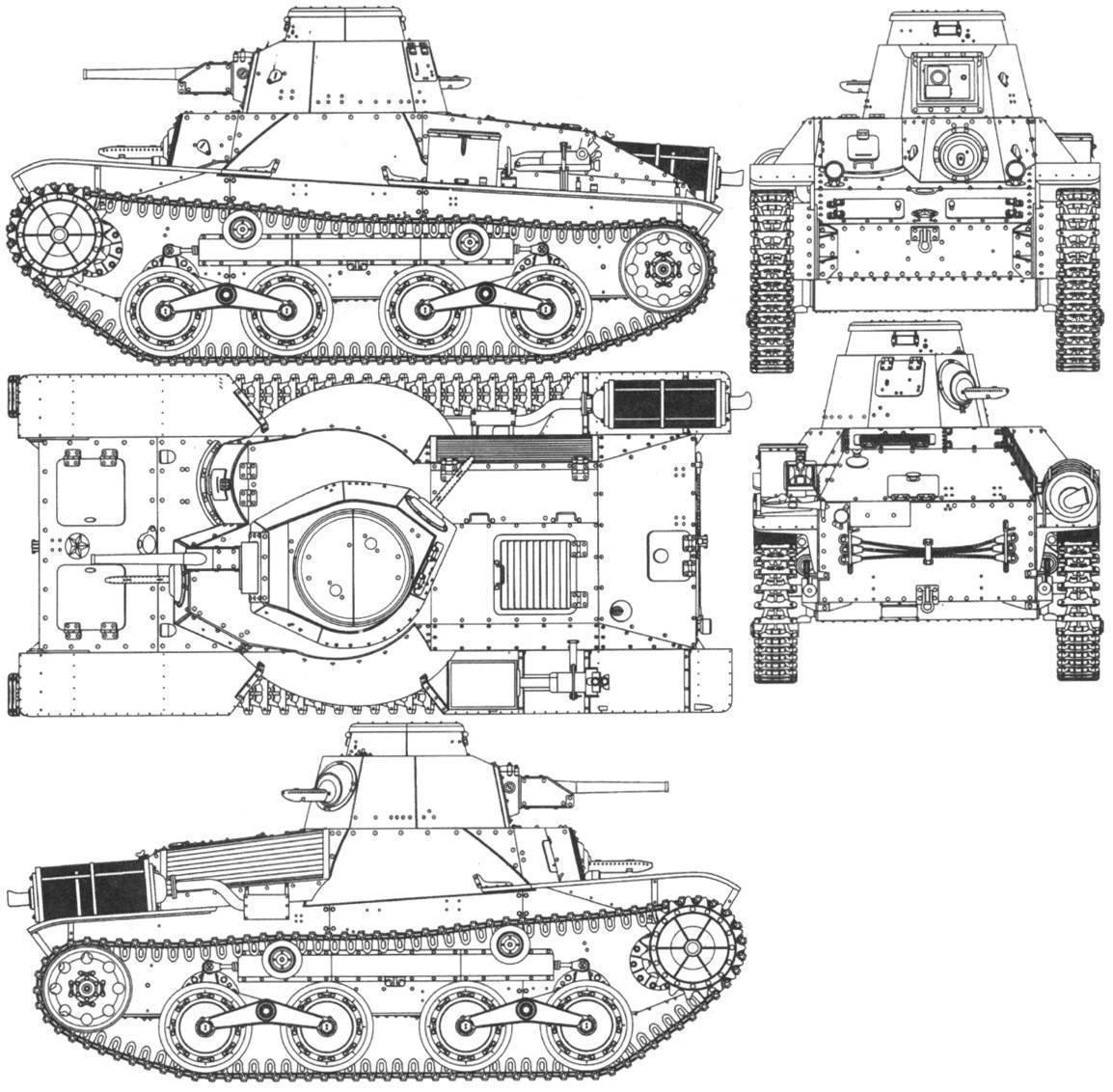 Ха-го — японский легкий танк