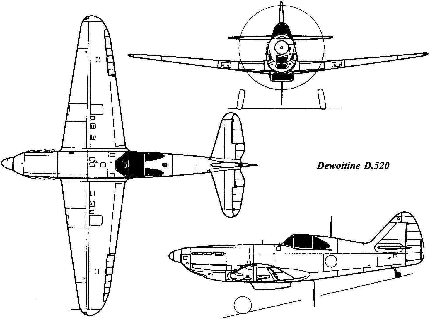 Летчик ввс вишистской франции марсель альбер в кабине истребителя девуатин d.520 | военный альбом
