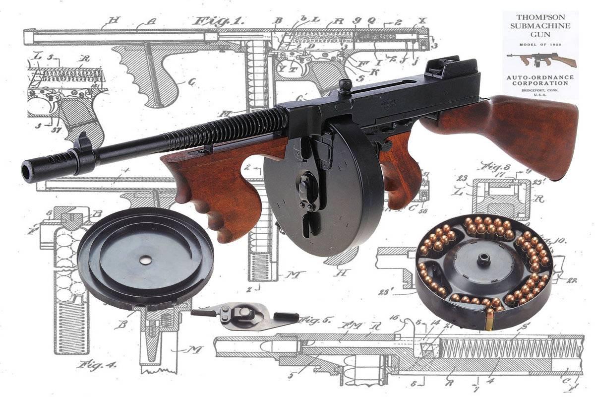 Пистолет-пулемёт томпсона — posmotre.li