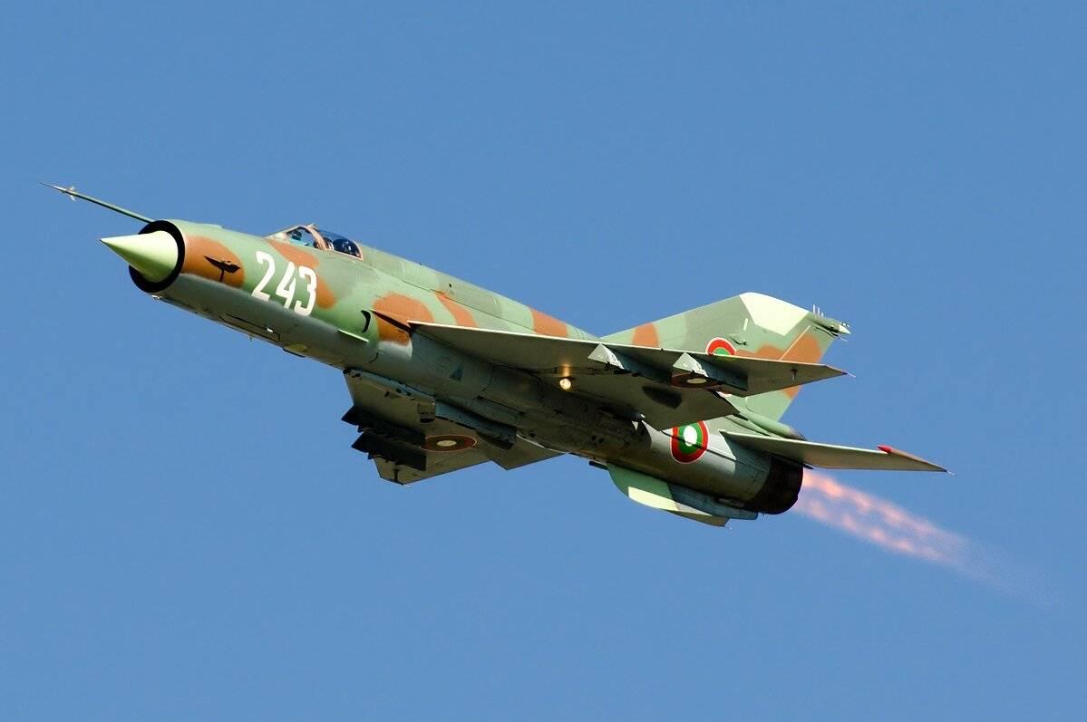 Миг-21 — самый распространенный сверхзвуковой самолет в истории