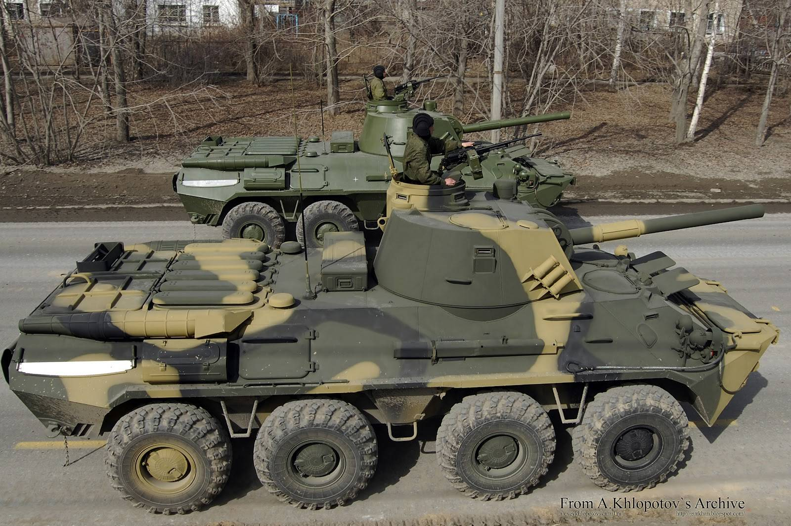 Самоходное артиллерийское орудие 2с9 нона-с