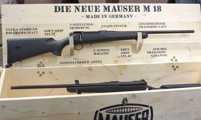 Охотничий карабин Mauser M 12