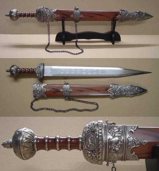 Арсенал римского легионера: забытое оружие войны (10 фото)