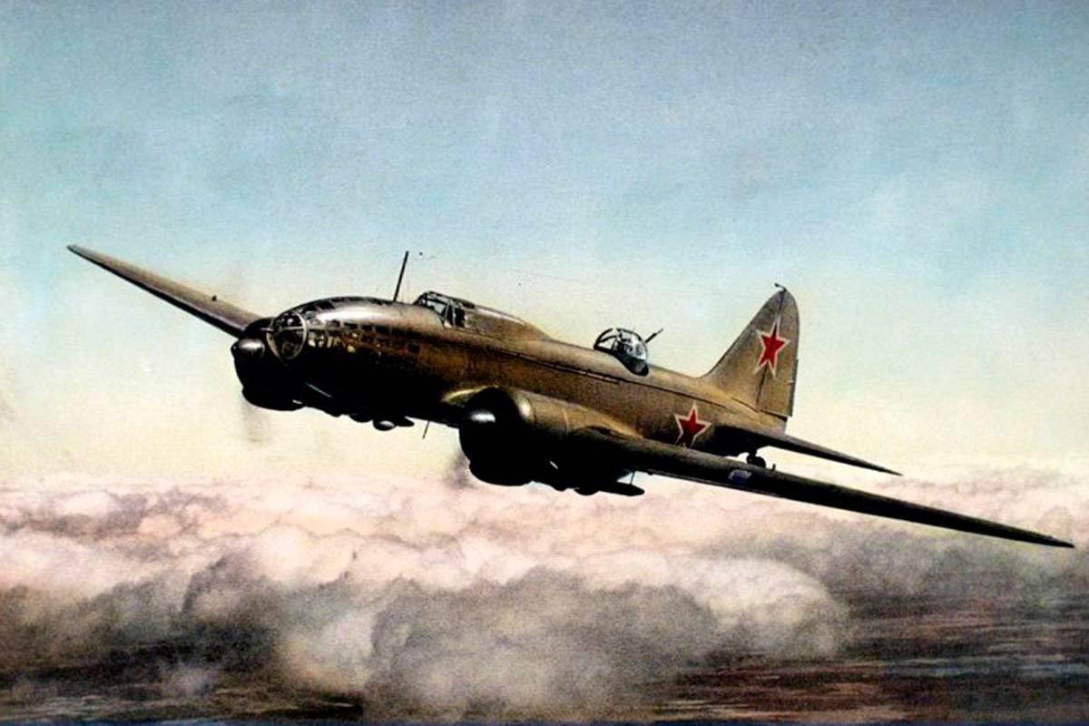 Бомбардировщик ту-2