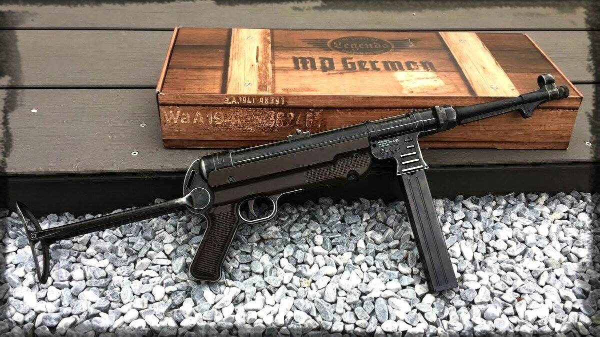 Пистолет-пулемет Schmeisser MP.28