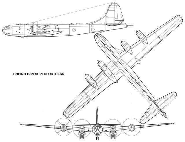 Бомбардировщик боинг b-29 «суперкрепость» | армии и солдаты. военная энциклопедия