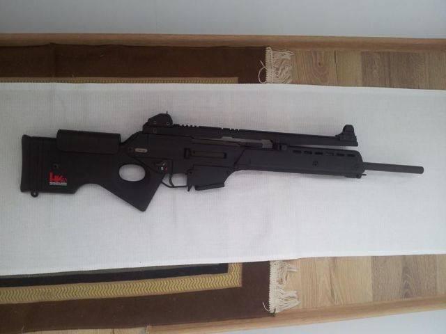 Видео: штурмовая винтовка heckler & koch g3