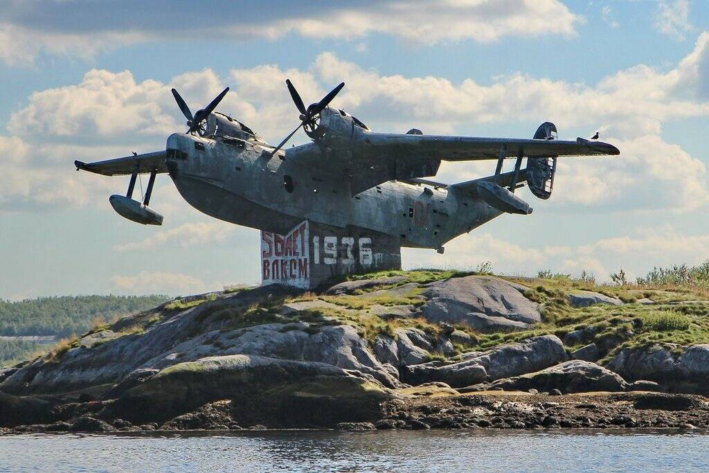 Советский долгожитель, противолодочный самолет-амфибия Бе-12