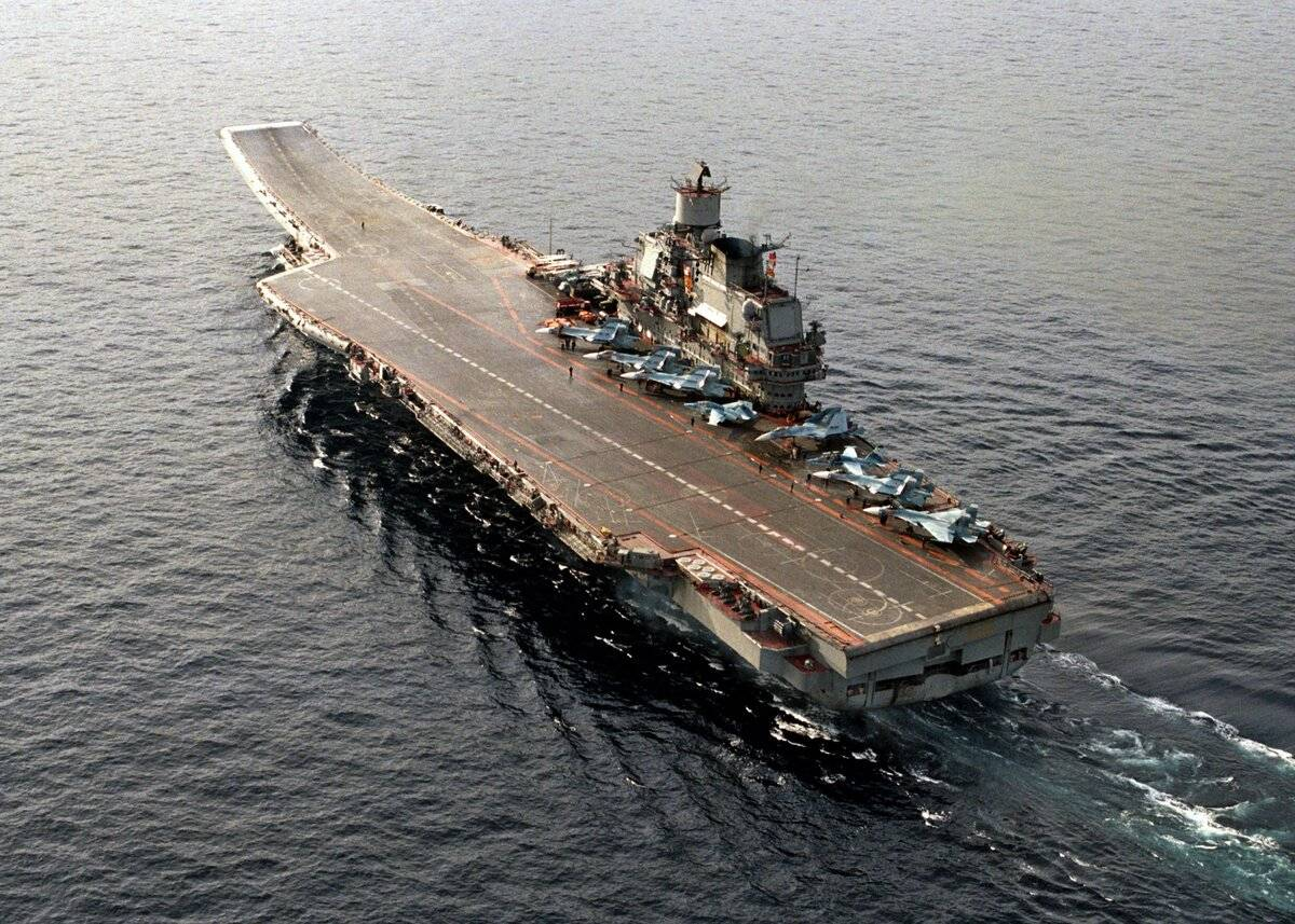 Царь морской: 47 дней на крейсере-авианосце «адмирал кузнецов»