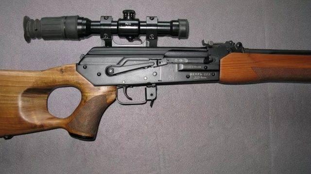 Винтовочный калибр. карабин впо-111 «егерь»