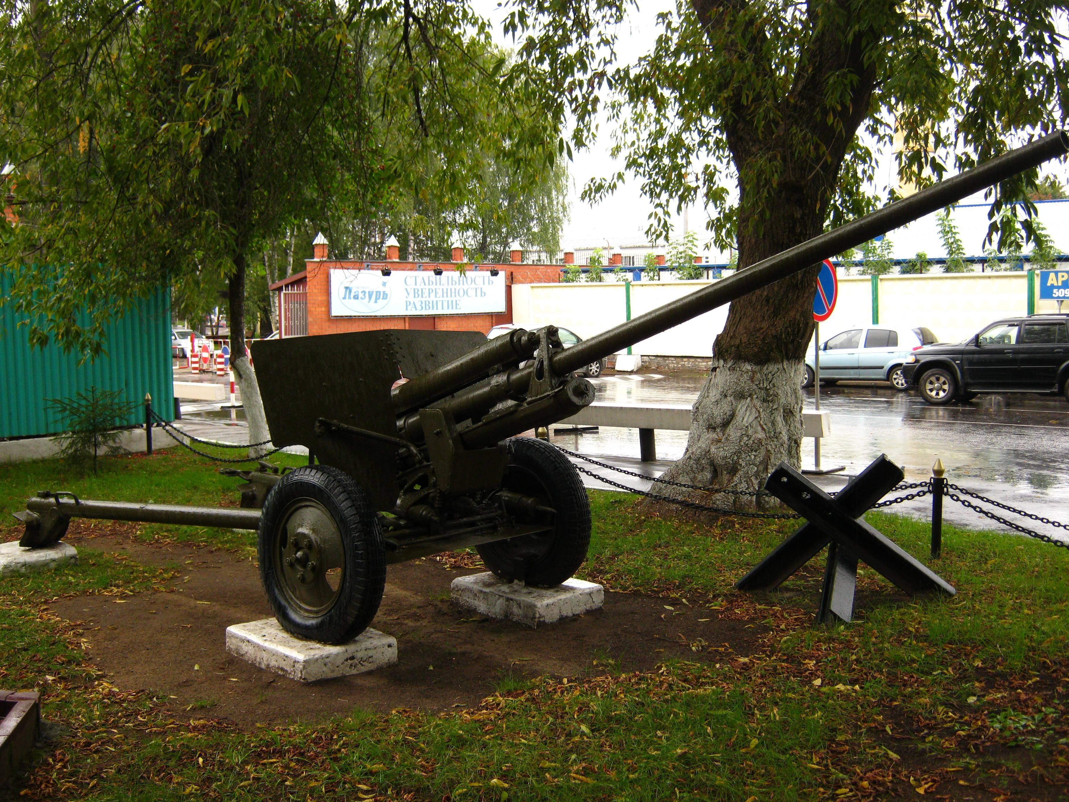 Советская 57-мм противотанковая пушка ЗиС-2 – грозный противник немецкого танкового зверинца