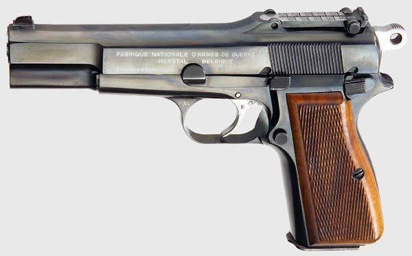 Пистолет браунинг хай пауэр ттх. фото. видео. размеры. скорострельность. скорость пули. прицельная дальность. вес