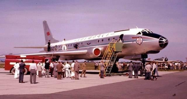 Пассажирский самолет ту-104: технические характеристики