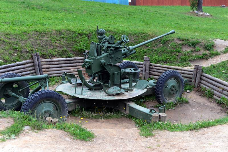 37 мм автоматическая зенитная пушка m1939 (61-к) - 37 mm automatic air defense gun m1939 (61-k)