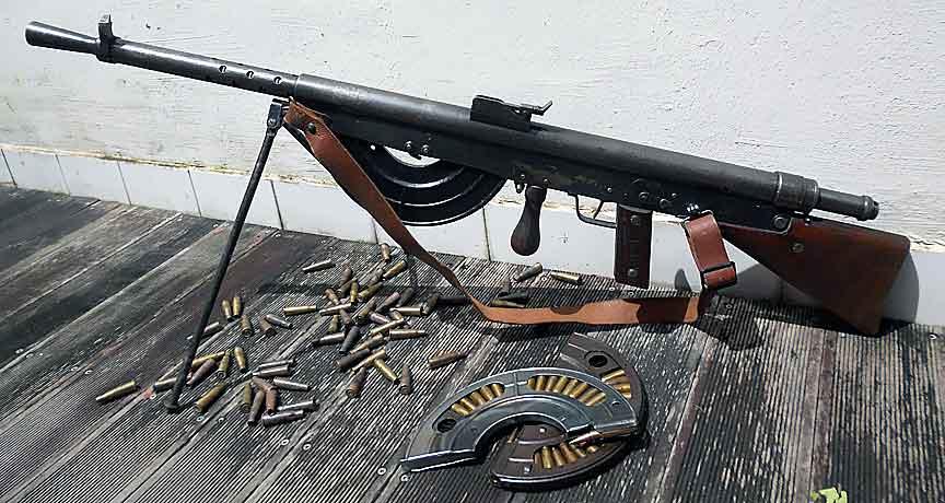Ручной пулемет Шоша: худшее оружие Первой мировой войны