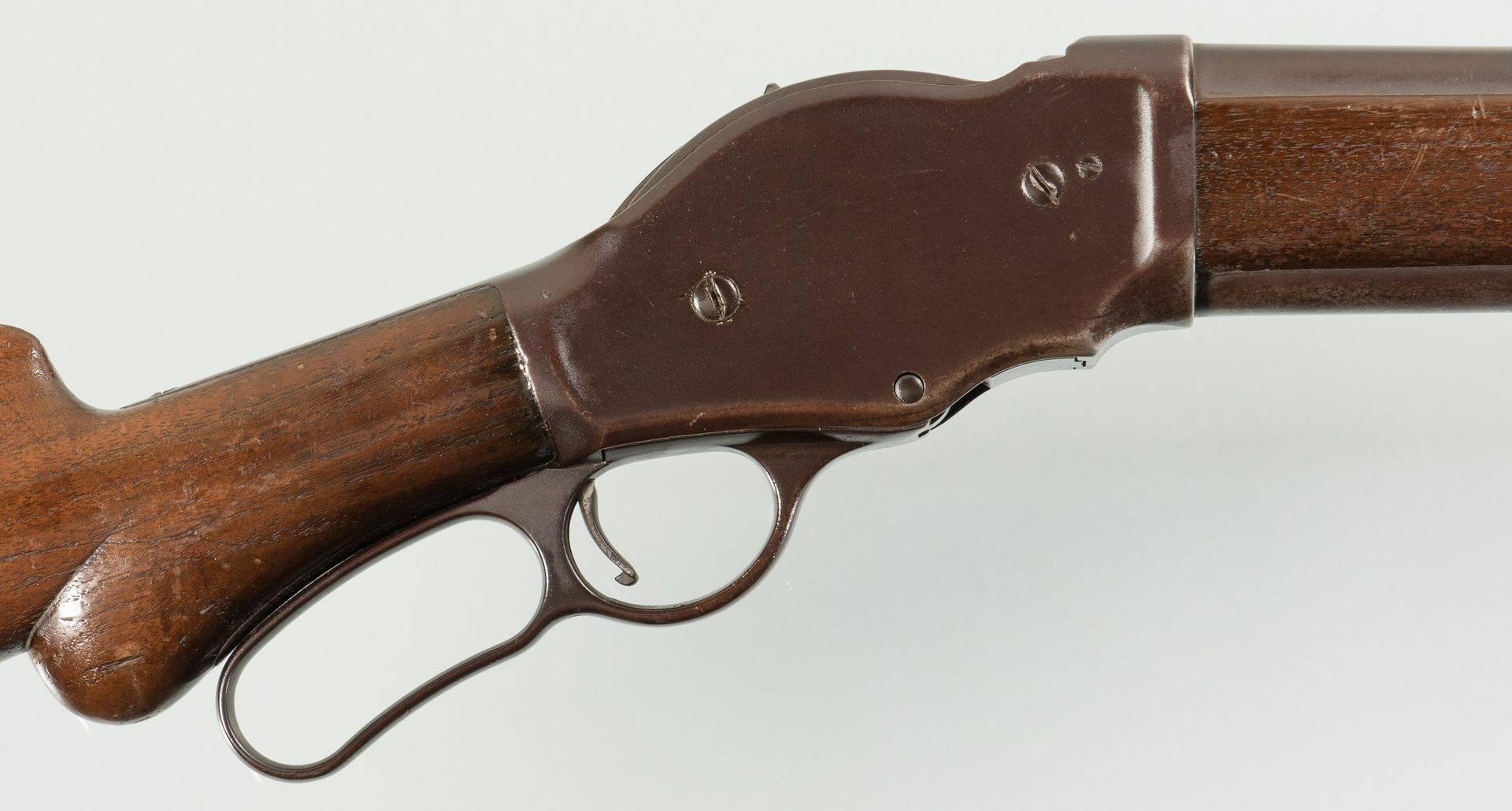 Гладкоствольное ружье винчестер 1887