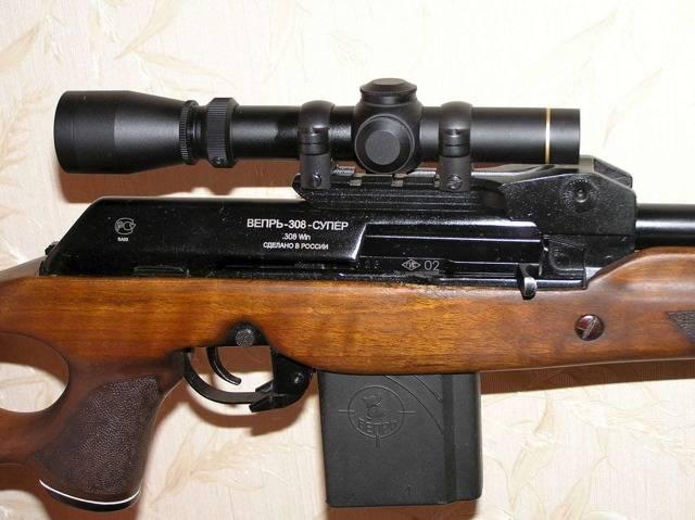 Карабин вепрь 308 супер: технические характеристики, как пристрелять, прицел и стрельба