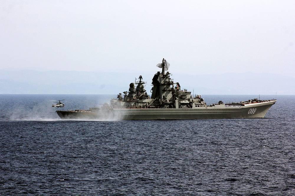 Атомный крейсер «петр великий» против системы «иджис»